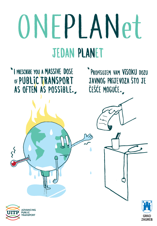 Plakat One planet, one plan